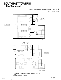 High Rise Apartment Floor Plans Southeast Towers Ii U2013 The Savannah U2013 Landsman Development Corporation