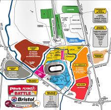 Las Vegas Motor Speedway Map by Bristol Motor Speedway Parking Map My Blog
