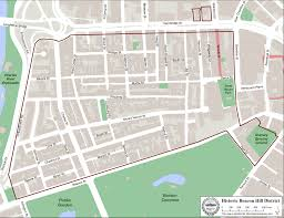 Boston Commons Map by