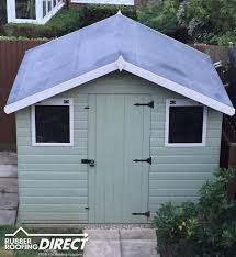 Shed Roof Homes Rubber Sheds Roofing Shed Roof Covering Epdm Kits