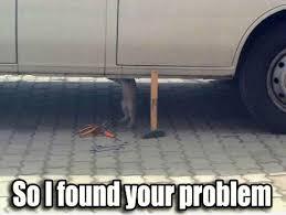 Funny Mechanic Memes - picz i like car mechanic kitty