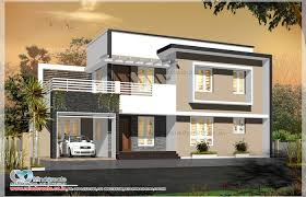 contemporary style contemporary style house elevation kerala model home plans modern