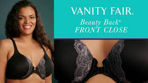 Vanity Fair Bras Front Closure Vanity Fair Beauty Back Front Close Full Figure 76383 Youtube