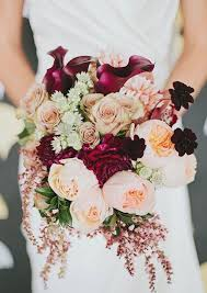 fall wedding bouquets fall wedding colors with lush details 100 layer cake layering