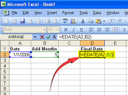 Spreadsheet Definition How To Create A Formula To Increase A Date By 1 Month 6 Steps
