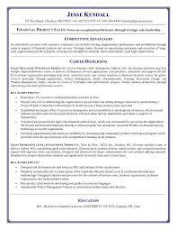 Resumes With Objectives