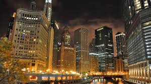chicago downtown hd wallpapers 4k