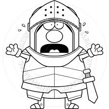 beer cartoon black and white cartoon hero knight scared black and white line art by cory