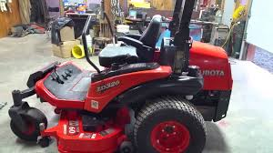 2007 kubota zd326 diesel powered zero turn mower youtube