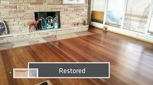 cumaru hardwood floor refinsih