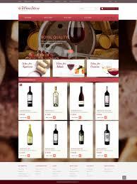 Kosher Champagne Website Template 50674 Wine Store Production Custom Website