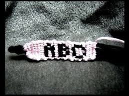 how to make alphabet friendship bracelets letters u0026 pictures