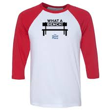 the good place what a bench baseball t shirt