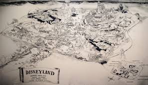 Disney Maps Maps Of The Disney Parks Charting 60 Years From California To