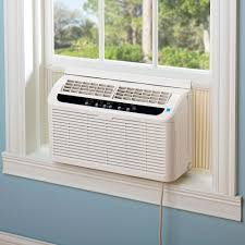 Air Conditioner For Living Room by The Quietest 6 000 Btu Window Air Conditioner Hammacher Schlemmer
