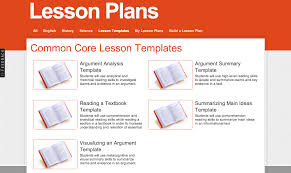 Weekly Lesson Plan Template Common by Need Lesson Plans We A Template For That