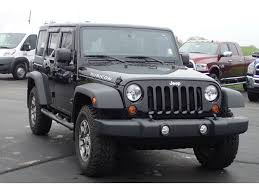 jeep black rubicon jeep wrangler unlimited rubicon in illinois for sale used cars