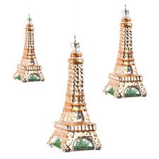 tree ornaments from eiffel tower