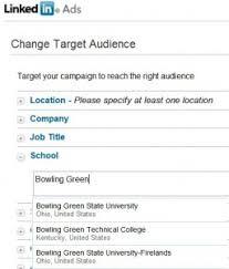 targeting alumni with linkedin advertising