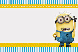 minion birthday party invitations dhavalthakur com