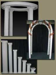 wedding arches columns wedding arches with columns the arch and column display