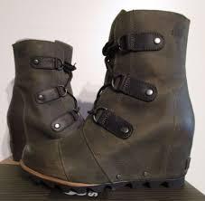 sorel womens boots uk navy sorel nib womens 11 sorel joan of arctic wedge mid
