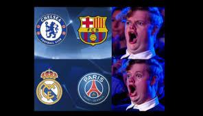 Memes De La Chions League - facebook chions league los memes que dej祿 el sorteo de