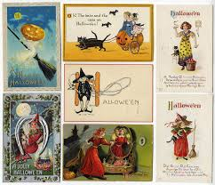 Halloween Name Origin Under Their Spell The Aas Collection Of Halloween Postcards