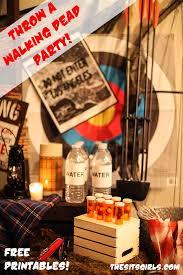 walking dead party supplies best 25 the walking dead theme ideas on the walking