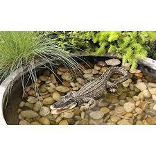 alligator garden decor 3 pc alligator garden statue