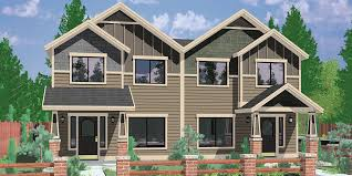 home plans narrow lot narrow lot duplex house plans narrow and zero lot line
