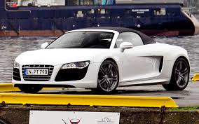 Audi R8 V10 Spyder - tracing viking routes in an audi r8 v10 spyder motor trend