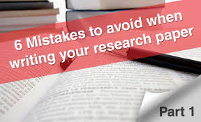 what is writing paper 6 mistakes to avoid when writing your research paper part 1 6 mistakes to avoid when writing your research paper part 1 youtube