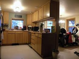stunning kitchen cabinets corner appliance garage with particle