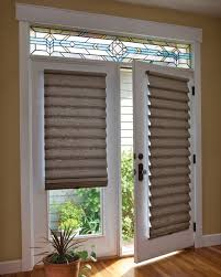 kitchen window covering ideas best shades for french doors roman