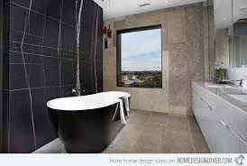 Black Modern Bathroom 20 Sleek Ideas For Modern Black And White Bathrooms Home Design