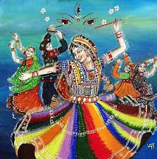 navratri coloring pages drawing painting for kids já pinterest