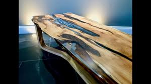 live edge river table epoxy the yew epoxy resin coffee table no 1 river table youtube