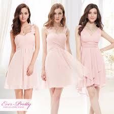 kleider f r brautjungfer rosa mini brautjungfer kleider drei arten schulter haupt recht