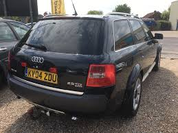 2004 audi allroad manual 2 5 tdi limited edition quattro 5dr