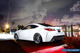 lexus sports car white diamond white lexus rc f on xo luxury custom wheels u2014 carid com