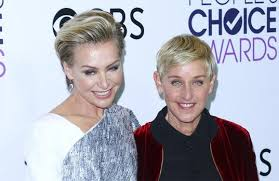 portia hair company ellen degeneres and portia de rossi to remarry iol entertainment