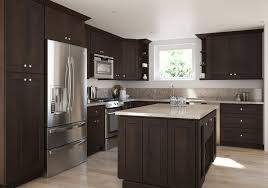 what paint color looks with espresso cabinets give your kitchen a jolt with espresso cabinetry the rta store