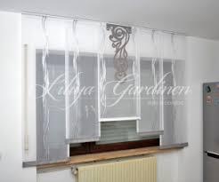 gardinen für die küche moderne küchengardinen bestellen individuelle fensterdeko