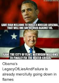 Meme King - the conservative meme king gave iran millions to buildanuclear