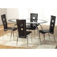 Best  Seater Glass Dining Sets Images On Pinterest Dining - 4 chair dining table designs
