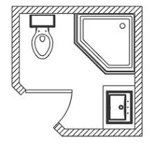 Bathroom Floor Plans Small 3ft X 9ft Small Bathroom Floor Plan Long And Thin With Shower