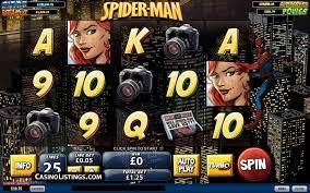 free spider man attack green goblin slot machine casino