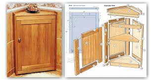 how to build an corner cabinet free woodworking plans corner cabinet woodworking new