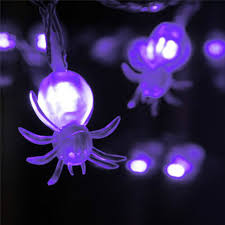halloween purple led string lights new arrival 20 pc purple led fairy string lights spider lights